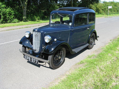 1936 Austin 7 Ruby Mk1 SOLD (picture 1 of 6)