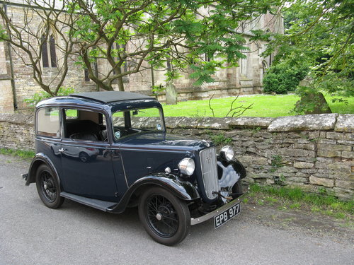 1936 Austin 7 Ruby Mk1 SOLD (picture 6 of 6)