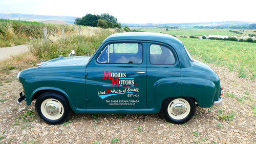 1958 Austin A35 Saloon with only 36800 miles  SOLD (picture 2 of 6)