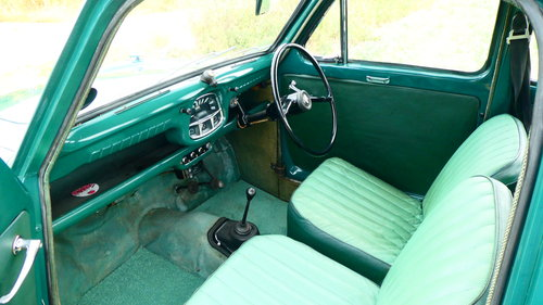1958 Austin A35 Saloon with only 36800 miles  SOLD (picture 6 of 6)