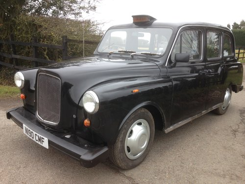 1995 AUSTIN FX4 CARBODIES FAIRWAY LONDON TAXI CAB SOLD (picture 1 of 6)