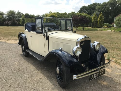 1934 Austin 10 two seater with Dickey Seat SOLD (picture 1 of 6)