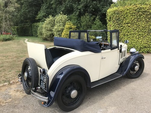 1934 Austin 10 two seater with Dickey Seat SOLD (picture 3 of 6)