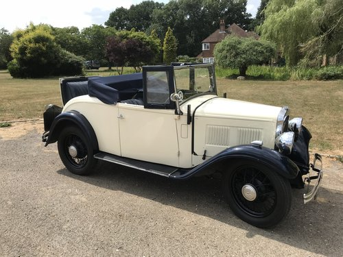 1934 Austin 10 two seater with Dickey Seat SOLD (picture 5 of 6)
