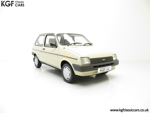 1985 A Rare Surviving Austin Metro Automatic with 16,464 Miles SOLD (picture 1 of 6)