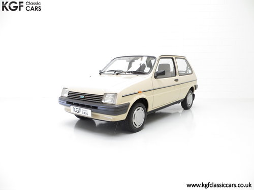 1985 A Rare Surviving Austin Metro Automatic with 16,464 Miles SOLD (picture 2 of 6)