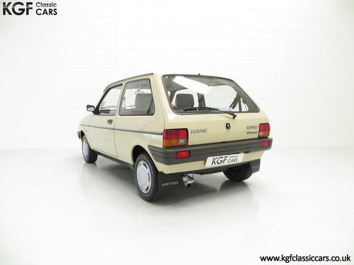 1985 A Rare Surviving Austin Metro Automatic with 16,464 Miles SOLD (picture 4 of 6)