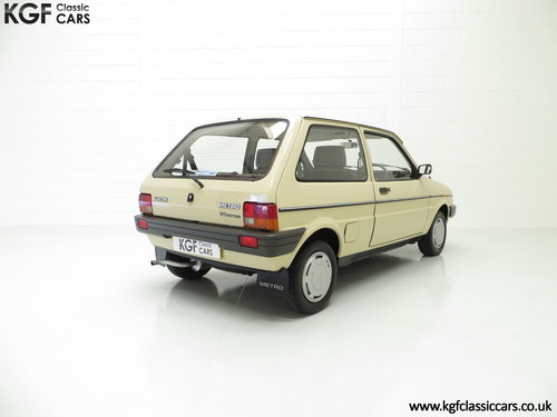 1985 A Rare Surviving Austin Metro Automatic with 16,464 Miles SOLD (picture 5 of 6)