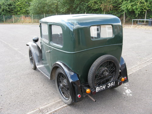1934 Austin 7 RP Box Saloon SOLD (picture 2 of 6)