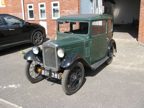 1934 Austin 7 RP Box Saloon SOLD (picture 1 of 6)
