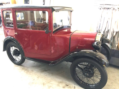 1928 AUSTIN SEVEN TOP HAT SOLD (picture 1 of 6)