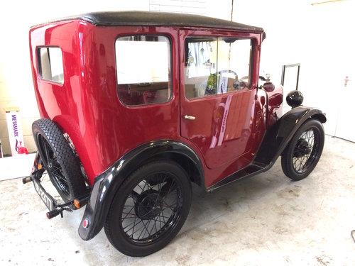 1928 AUSTIN SEVEN TOP HAT SOLD (picture 2 of 6)