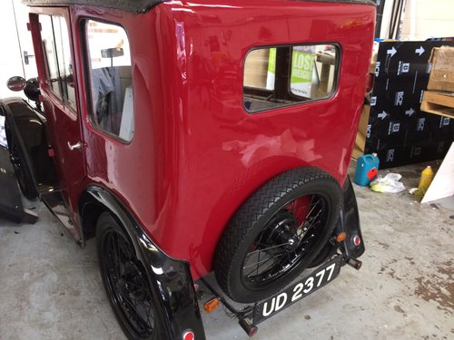 1928 AUSTIN SEVEN TOP HAT SOLD (picture 3 of 6)