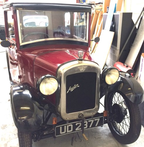 1928 AUSTIN SEVEN TOP HAT SOLD (picture 6 of 6)
