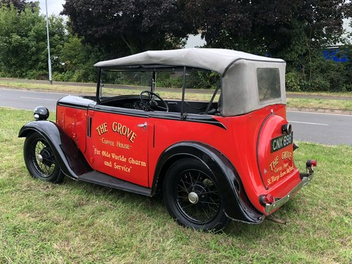 1938 Austin 7 Four Seat Tourer SOLD (picture 6 of 6)