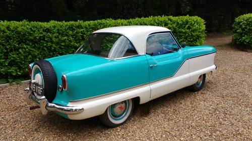 1958 Austin Metropolitan Coupe  SOLD (picture 1 of 2)