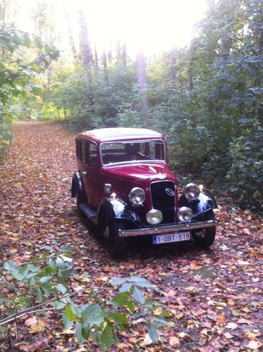 1935 Austin 12/6 Light Ascot saloon For Sale (picture 1 of 6)