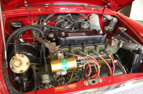 1963 CLASSIC AUSTIN MINI SPRINT R COOPER S 1275 For Sale (picture 6 of 6)