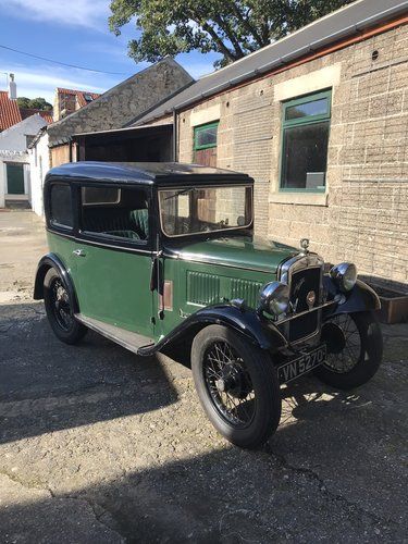 1933 Austin Seven RN Saloon SOLD (picture 1 of 6)