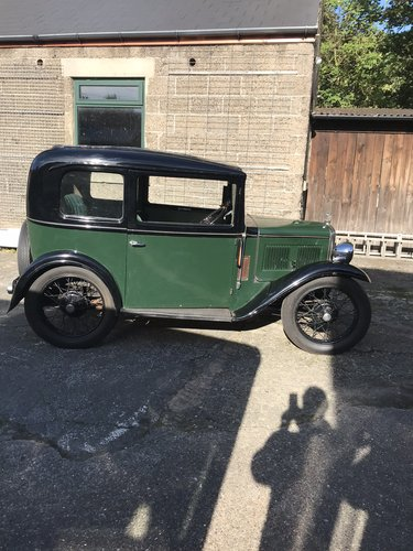 1933 Austin Seven RN Saloon SOLD (picture 2 of 6)