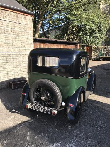 1933 Austin Seven RN Saloon SOLD (picture 3 of 6)
