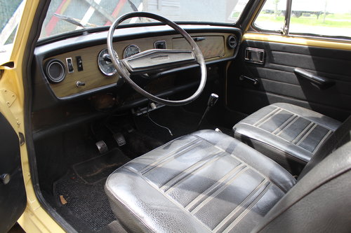 1973 Austin Glider 1300 2-door LHD Cooper S carbs For Sale (picture 5 of 6)