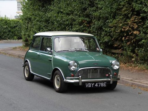 1967 Austin Mini Cooper Mki Matching No S And Colours Sold Car