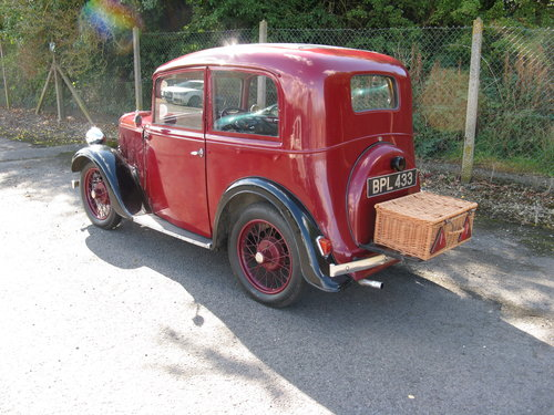 1935 Austin 7 Ruby Mk1 SOLD (picture 1 of 6)