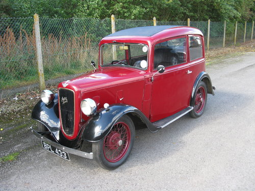 1935 Austin 7 Ruby Mk1 SOLD (picture 2 of 6)