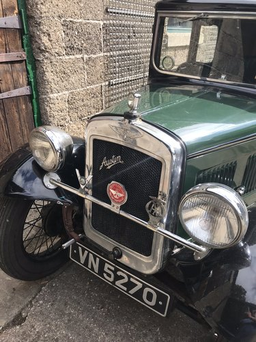 1933 Austin Seven RN Saloon SOLD (picture 6 of 6)