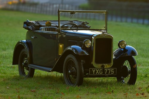 1934 Austin Seven APD Military Tourer For Sale (picture 1 of 6)