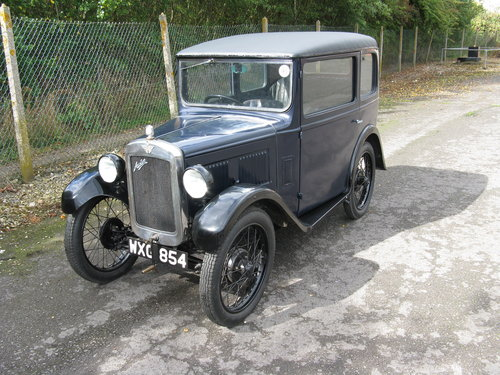 1931 Austin 7 RM Saloon SOLD (picture 1 of 6)