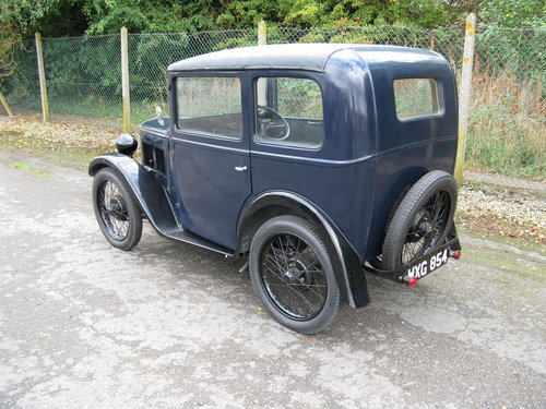 1931 Austin 7 RM Saloon SOLD (picture 2 of 6)