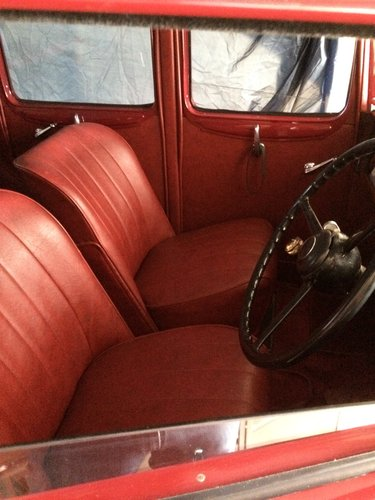 1935 Austin 12/6 Light Ascot saloon For Sale (picture 3 of 6)