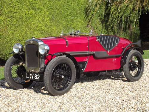 1935 Austin 7 Ulster Replica.SOLD - SIMILAR EXAMPLES WANTED For Sale (picture 1 of 6)