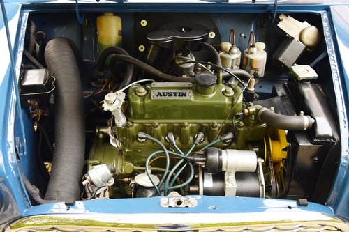 Austin Mini Mk1 Super De Luxe (1966) For Sale (picture 6 of 6)