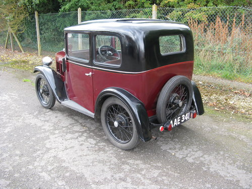 1933 Austin 7 RP Saloon SOLD (picture 1 of 6)
