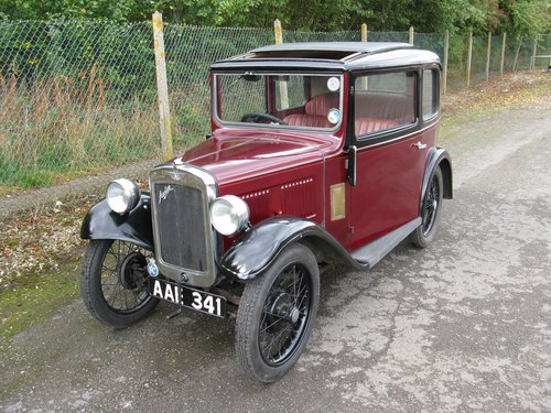1933 Austin 7 RP Saloon SOLD (picture 6 of 6)