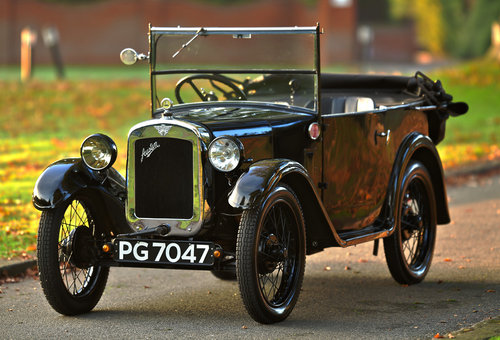 1930 Austin Seven Tourer Type AE 'Chummy' SOLD (picture 1 of 6)