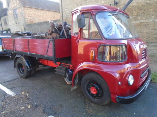 1963 Austin FGK 40 Dropside Lorry (thrupenny bit cab) For Sale (picture 1 of 6)
