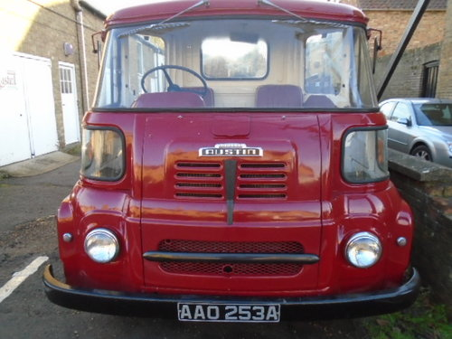 1963 Austin FGK 40 Dropside Lorry (thrupenny bit cab) For Sale (picture 2 of 6)