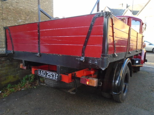 1963 Austin FGK 40 Dropside Lorry (thrupenny bit cab) For Sale (picture 3 of 6)