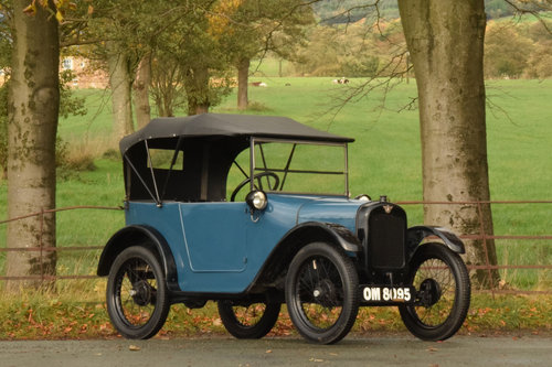 1925 Austin 7 Pram-hood Chummy SOLD (picture 1 of 6)