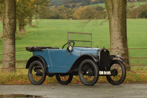 1925 Austin 7 Pram-hood Chummy SOLD (picture 2 of 6)