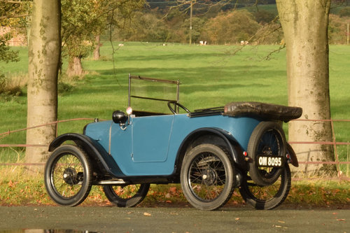 1925 Austin 7 Pram-hood Chummy SOLD (picture 3 of 6)