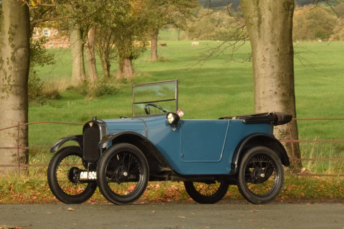 1925 Austin 7 Pram-hood Chummy SOLD (picture 4 of 6)