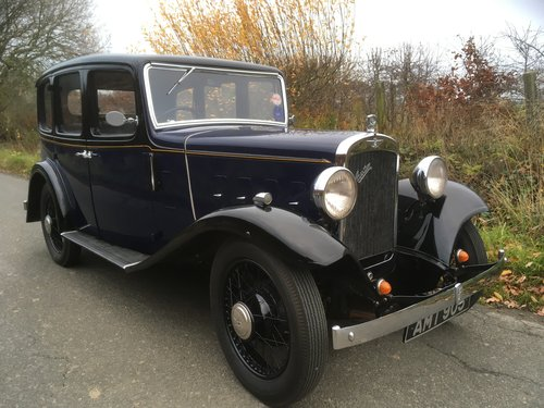 1934 Austin Ascot Lt 12/4 Saloon SOLD (picture 1 of 6)