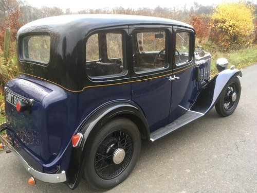 1934 Austin Ascot Lt 12/4 Saloon SOLD (picture 2 of 6)