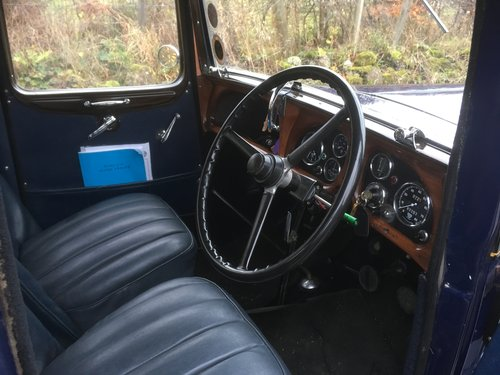 1934 Austin Ascot Lt 12/4 Saloon SOLD (picture 3 of 6)
