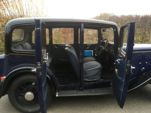 1934 Austin Ascot Lt 12/4 Saloon SOLD (picture 4 of 6)